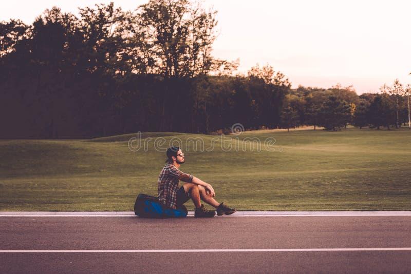 κουρασμένος ταξιδιώτης στοκ φωτογραφία με δικαίωμα ελεύθερης χρήσης