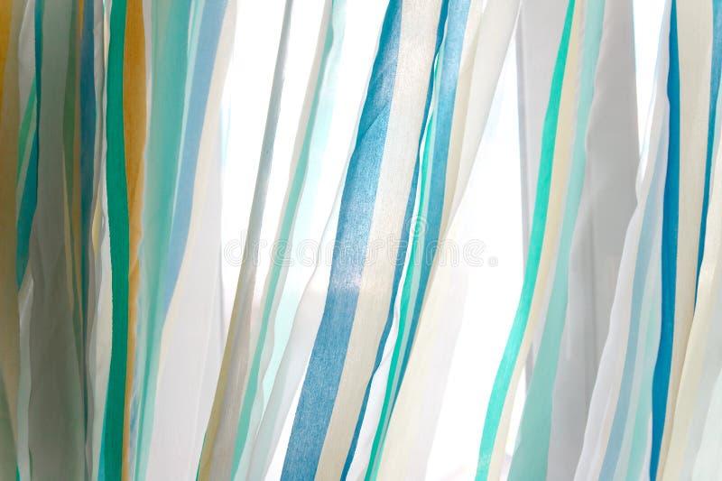 Κουρτίνες του Tulle στοκ φωτογραφία με δικαίωμα ελεύθερης χρήσης