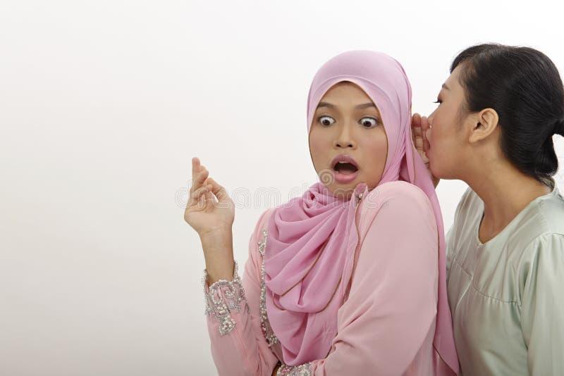 Κουτσομπολιό στοκ φωτογραφία
