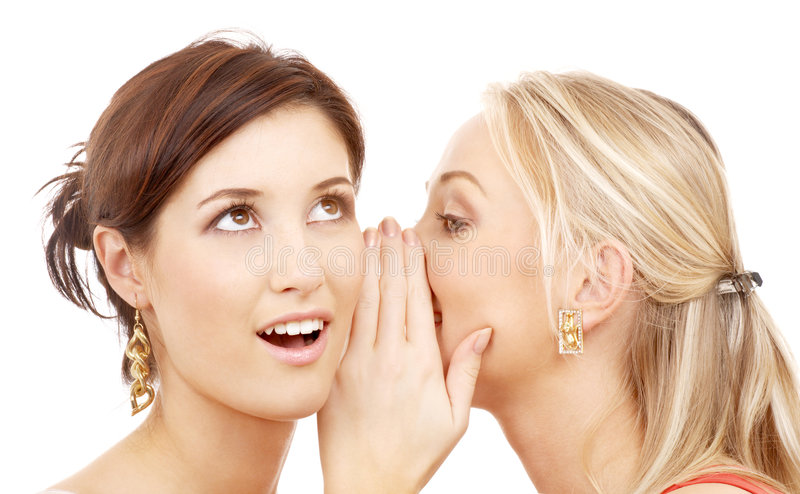 κουτσομπολιό στοκ εικόνες με δικαίωμα ελεύθερης χρήσης