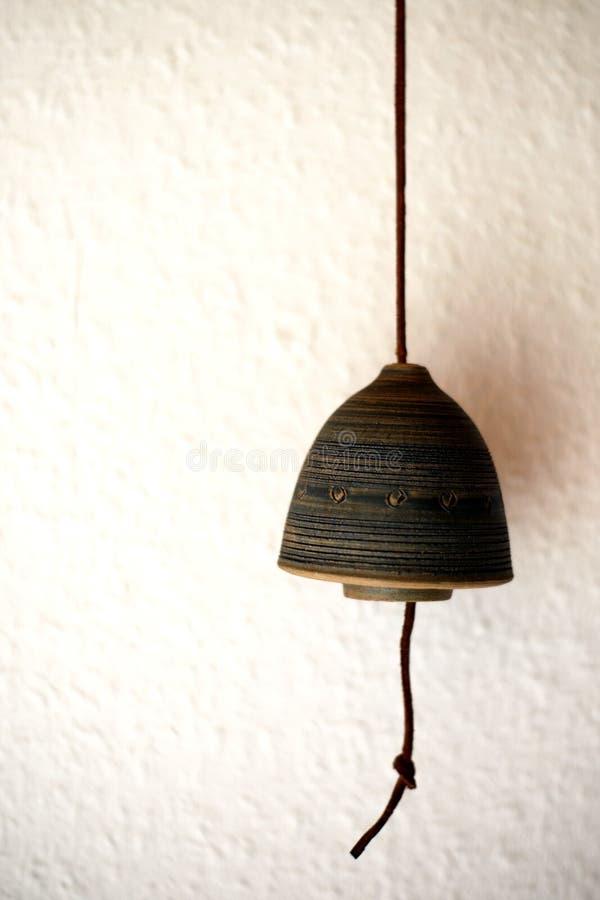κουδούνι κεραμικό στοκ εικόνα με δικαίωμα ελεύθερης χρήσης