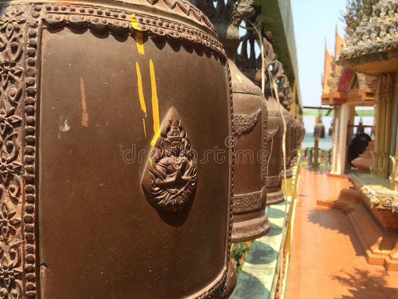 κουδούνι Ταϊλανδός στοκ φωτογραφία με δικαίωμα ελεύθερης χρήσης