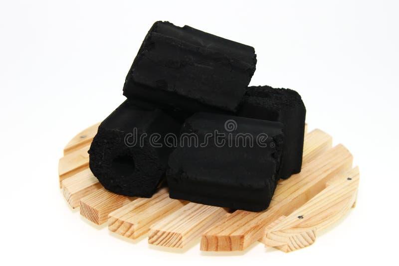 κοχύλι καρύδων ξυλάνθρακ&a στοκ φωτογραφίες με δικαίωμα ελεύθερης χρήσης