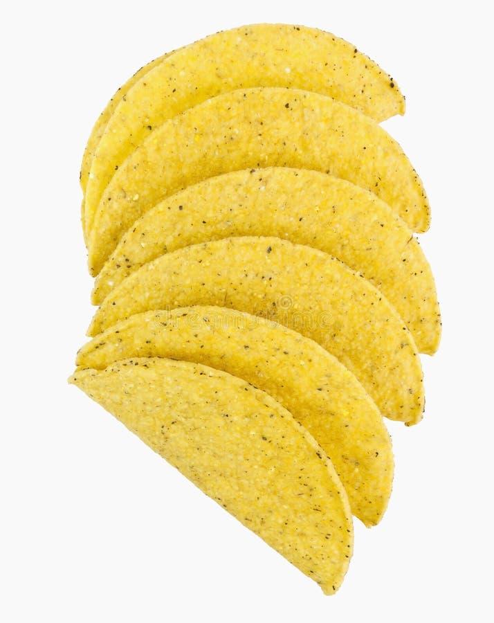 Κοχύλια Taco στοκ εικόνες με δικαίωμα ελεύθερης χρήσης