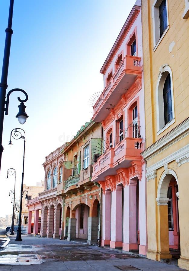 Κούβα Οδοί της παλαιάς Αβάνας στοκ εικόνα με δικαίωμα ελεύθερης χρήσης