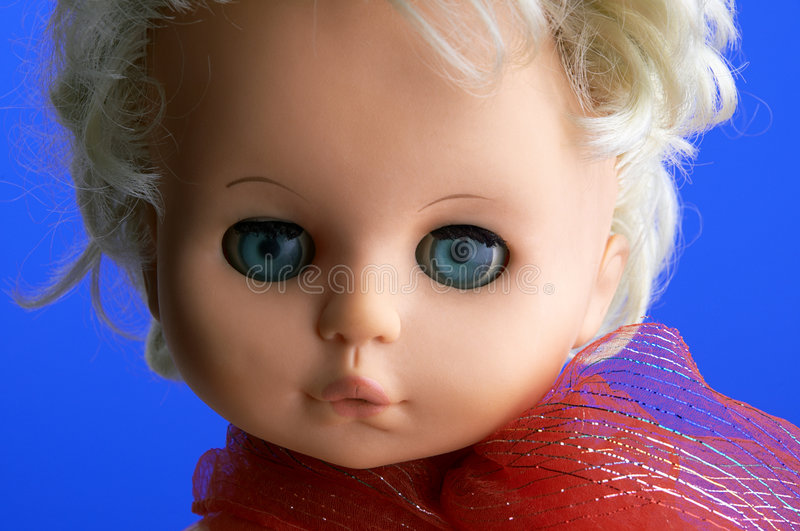 Download κούκλα στοκ εικόνα. εικόνα από κούκλα, μάτια, πρόσωπο, μαντίλι - 387747