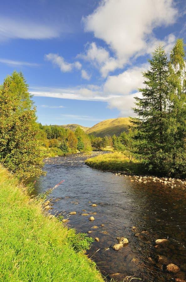 Κούκλα Glen, Cairngorms, Σκωτία στοκ εικόνα με δικαίωμα ελεύθερης χρήσης