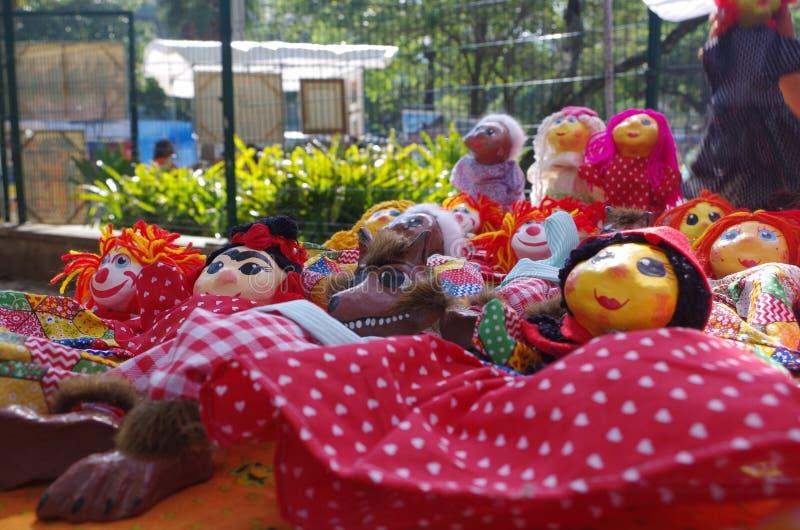 Κούκλες αγοράς Ρίο ντε Τζανέιρο στοκ εικόνα με δικαίωμα ελεύθερης χρήσης