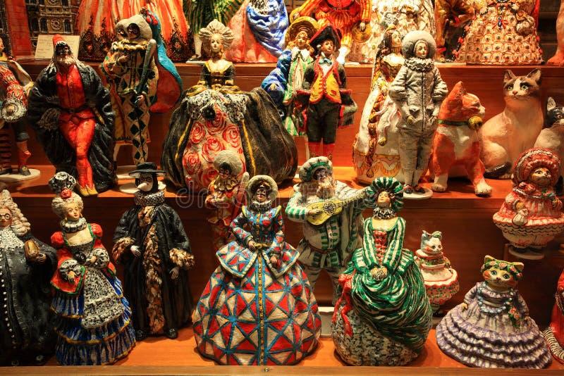 κούκλες Βενετός στοκ φωτογραφία με δικαίωμα ελεύθερης χρήσης