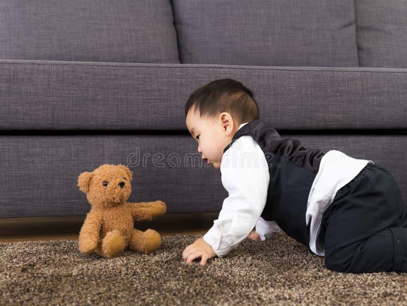 Κούκλα παιχνιδιού μωρών στοκ φωτογραφία με δικαίωμα ελεύθερης χρήσης