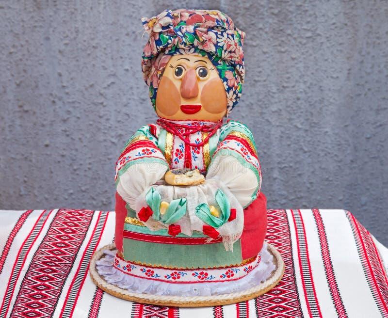 Κούκλα στο μαντίλι στοκ εικόνες με δικαίωμα ελεύθερης χρήσης