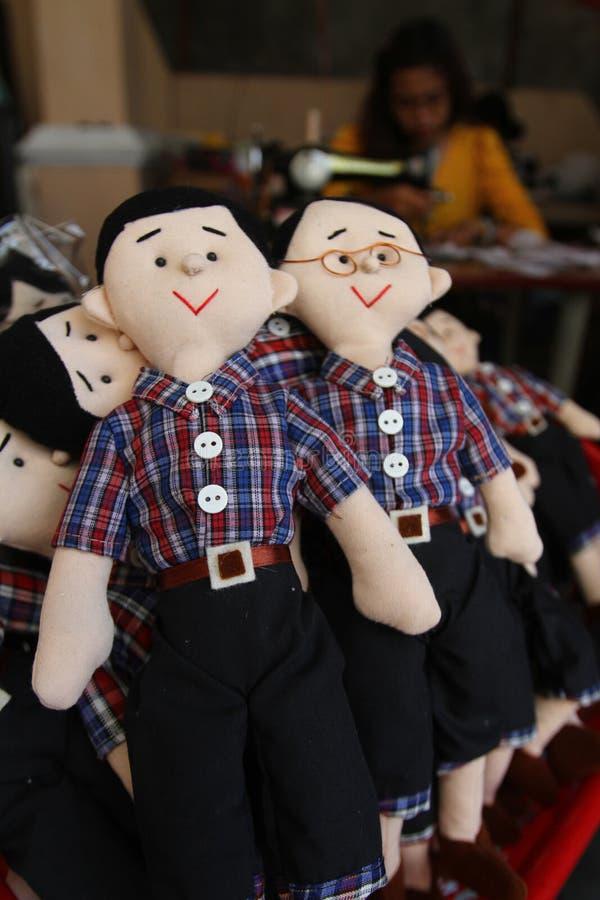 Κούκλα Jokowi ahok (overnor της Τζακάρτα) στοκ εικόνες