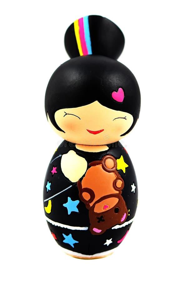 Κούκλα Momiji στοκ εικόνα
