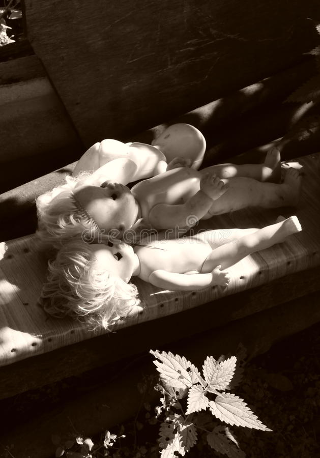 κούκλες παλαιές στοκ φωτογραφίες με δικαίωμα ελεύθερης χρήσης
