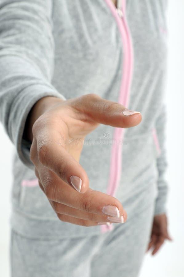 κούνημα χεριών στοκ εικόνα