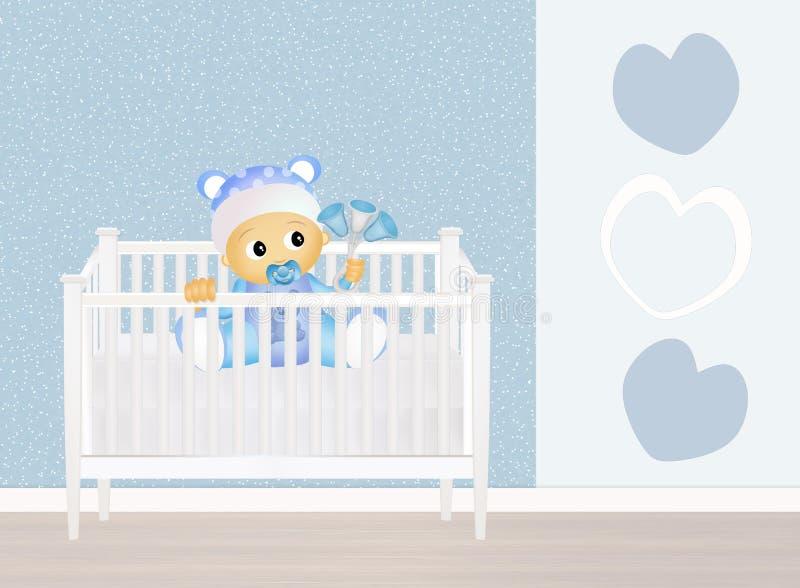 κούνια μωρών ελεύθερη απεικόνιση δικαιώματος