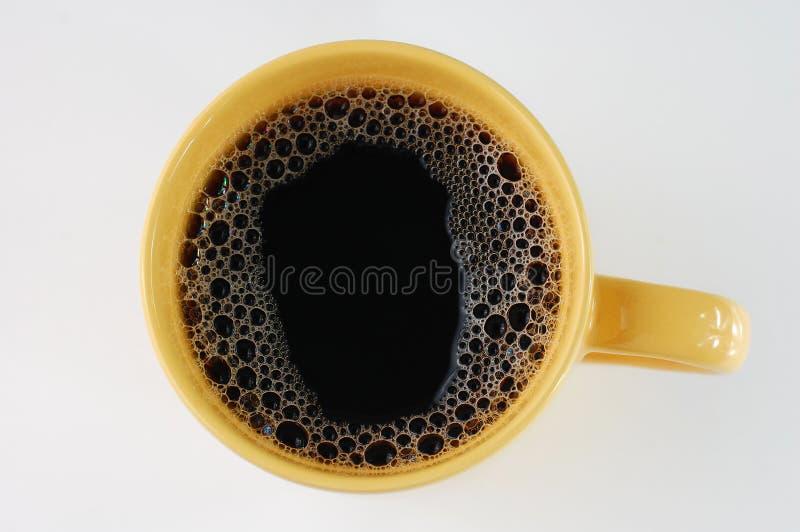 κούπα καφέ κίτρινη στοκ εικόνα με δικαίωμα ελεύθερης χρήσης