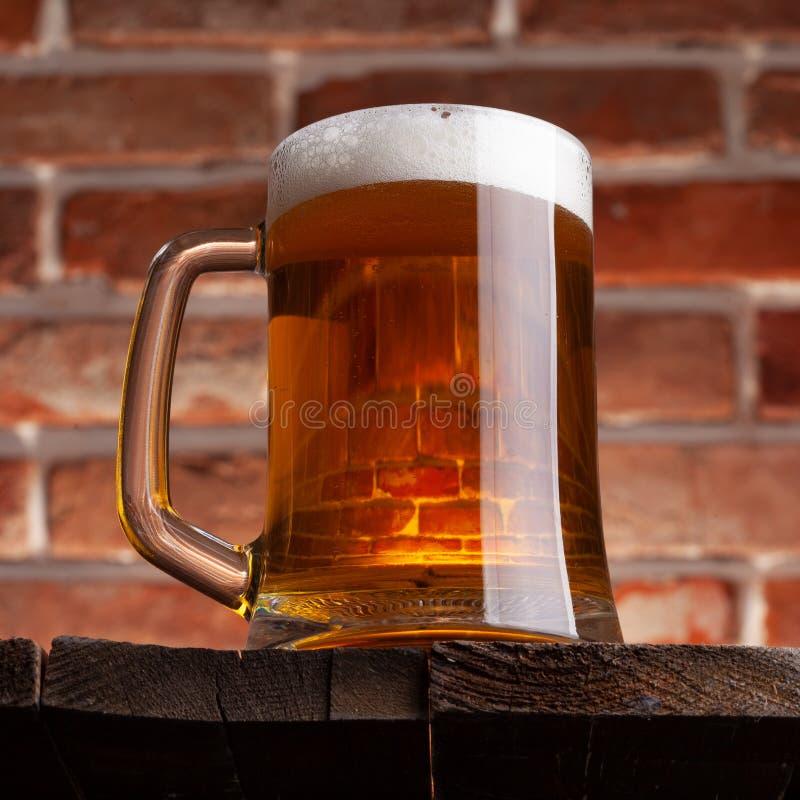 Κούπα μιας μπύρας στοκ φωτογραφίες με δικαίωμα ελεύθερης χρήσης