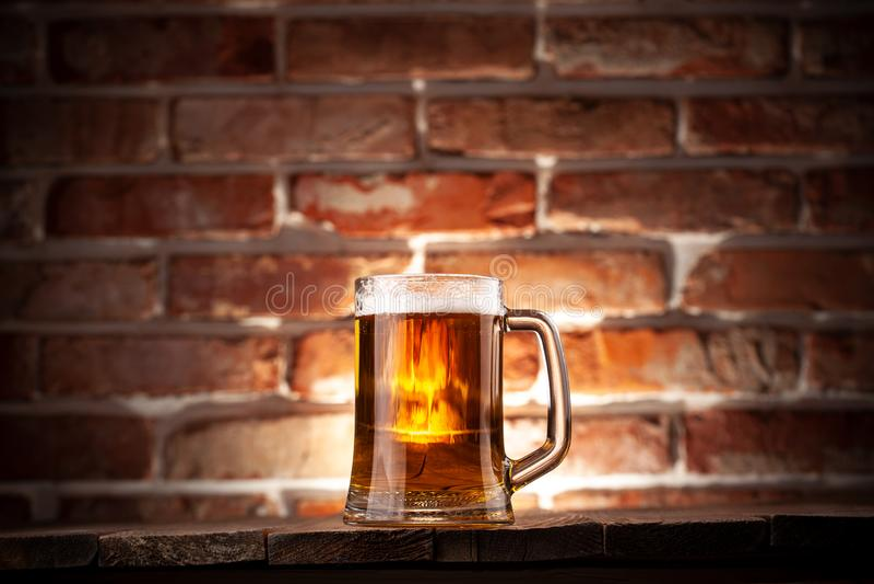 Κούπα μιας μπύρας στοκ φωτογραφία με δικαίωμα ελεύθερης χρήσης