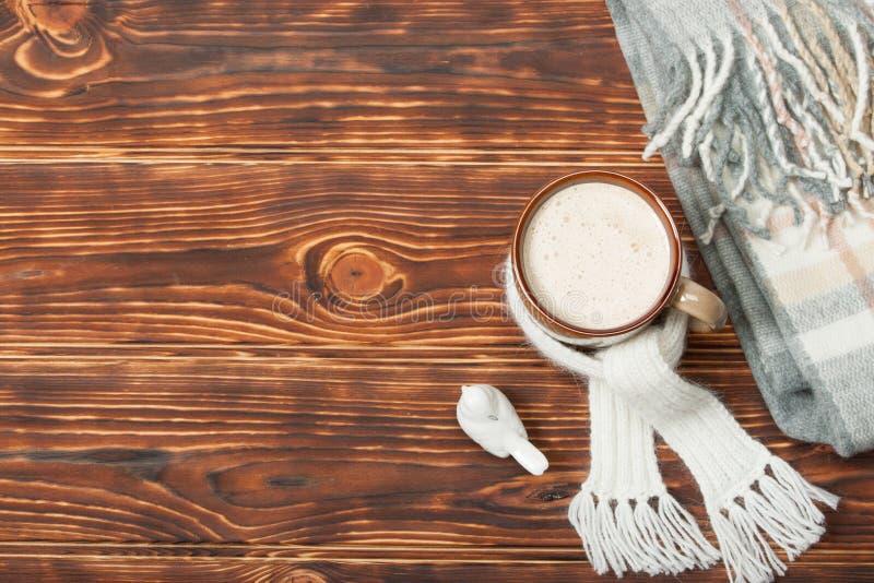 Download Κούπα της καυτού σοκολάτας ή του καφέ με Marshmallows Στοκ Εικόνα - εικόνα από κλείστε, κακάο: 62703377