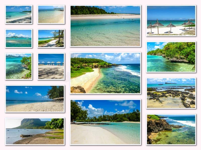 Download Κολάζ εικόνων του Μαυρίκιου Στοκ Εικόνες - εικόνα από καλοκαίρι, snorkeling: 62719562