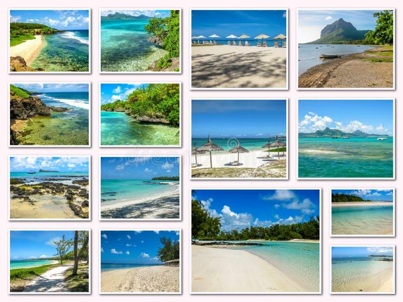 Download Κολάζ εικόνων του Μαυρίκιου Στοκ Εικόνα - εικόνα από καραϊβικός, τοπίο: 62720561