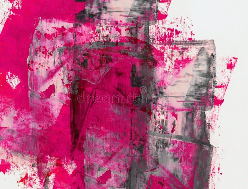Κολάζ Grunge, ύφος watercolor ελεύθερη απεικόνιση δικαιώματος
