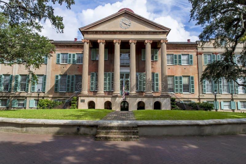 Κολλέγιο του Τσάρλεστον στοκ φωτογραφία με δικαίωμα ελεύθερης χρήσης