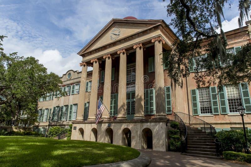 Κολλέγιο του Τσάρλεστον στοκ φωτογραφίες