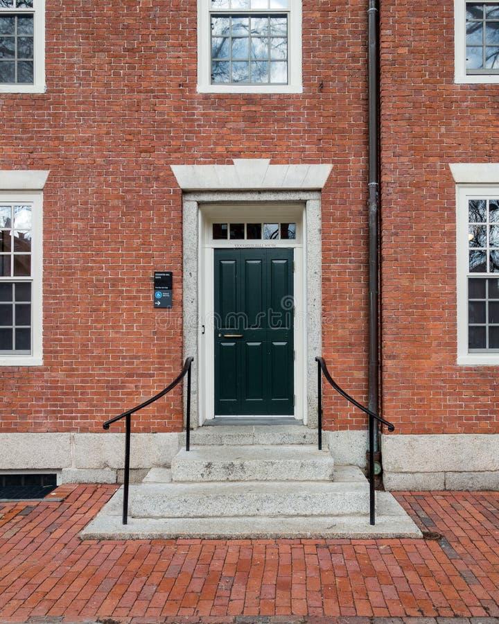 Κολλέγιο Dorms του Χάρβαρντ στοκ φωτογραφίες