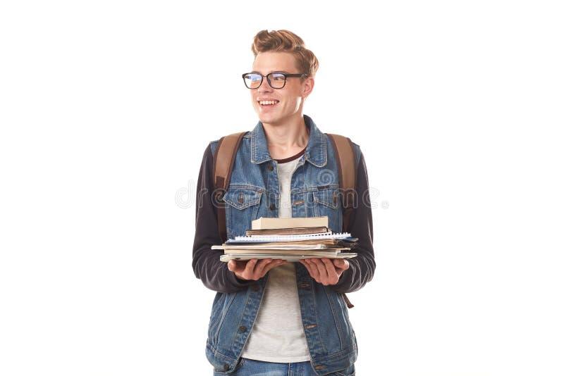 Κολλέγιο nerd στοκ φωτογραφία με δικαίωμα ελεύθερης χρήσης