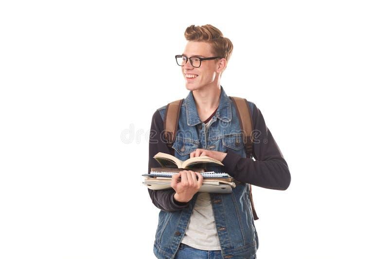 Κολλέγιο nerd στοκ εικόνες