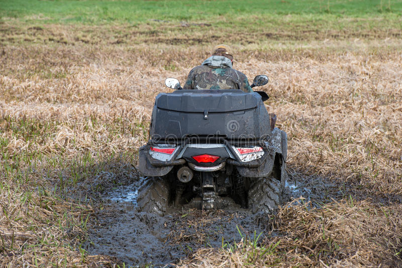 Κολλημένο ATV στοκ εικόνα με δικαίωμα ελεύθερης χρήσης