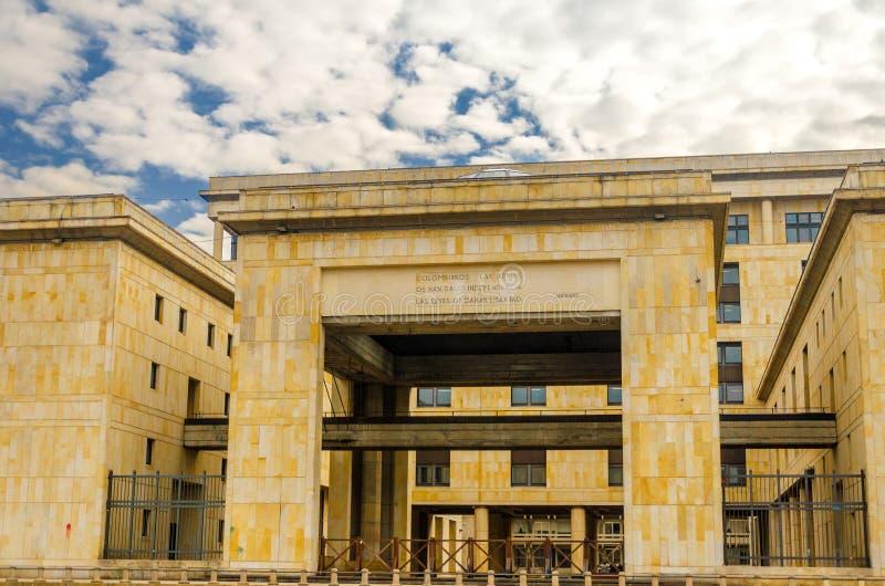 Κολομβιανό ανώτατο δικαστήριο στοκ φωτογραφία
