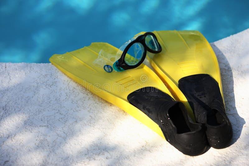 Κολυμπήστε τα πτερύγια 5 στοκ εικόνες με δικαίωμα ελεύθερης χρήσης