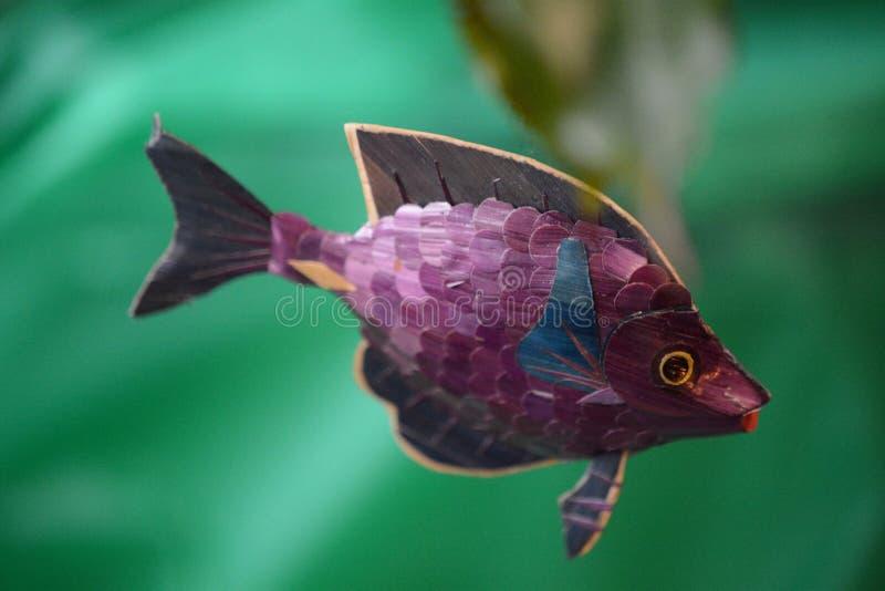 Κολύμβηση ψαριών παιχνιδιών στοκ εικόνα