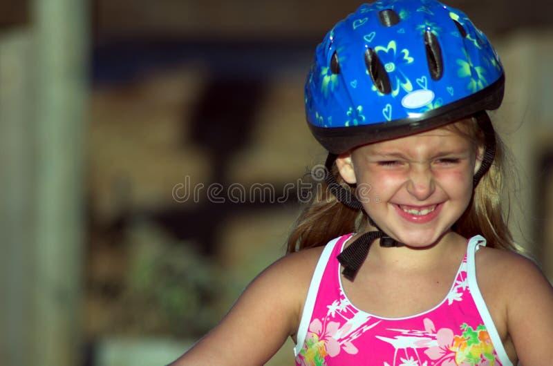 κράνος ποδηλάτων στοκ φωτογραφία