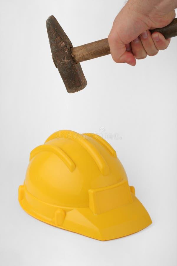 κράνος συντριβής στοκ φωτογραφία με δικαίωμα ελεύθερης χρήσης
