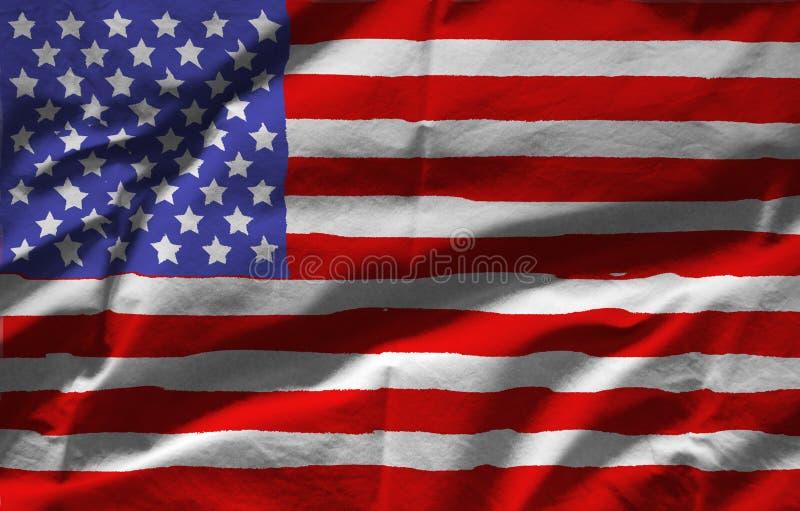 κράτη σημαίας που ενώνονται στοκ εικόνα