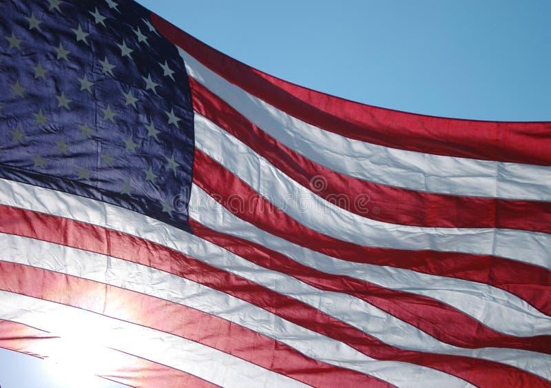 κράτη σημαίας που ενώνονται στοκ εικόνες με δικαίωμα ελεύθερης χρήσης