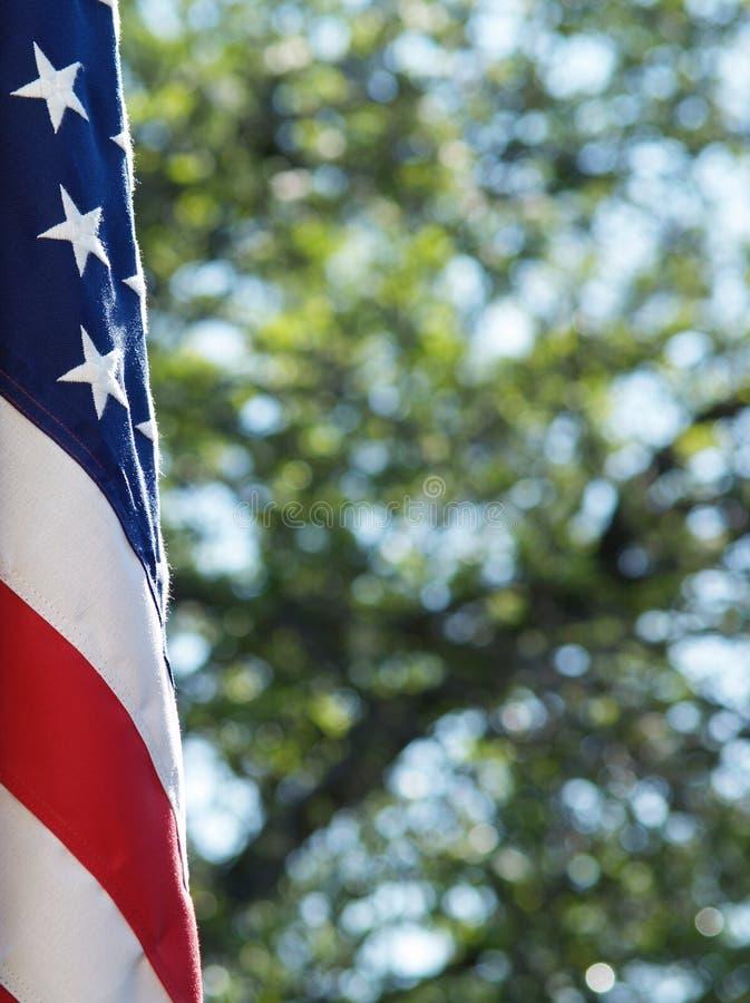 κράτη σημαίας που ενώνοντα στοκ εικόνα