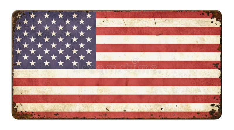 κράτη σημαίας της Αμερικής στοκ εικόνες