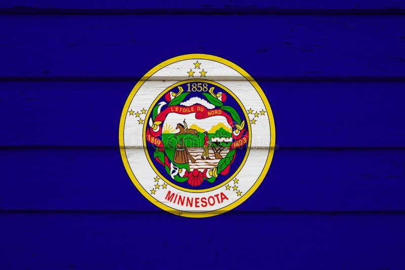 κράτος Μινεσότας σημαιών στοκ εικόνες