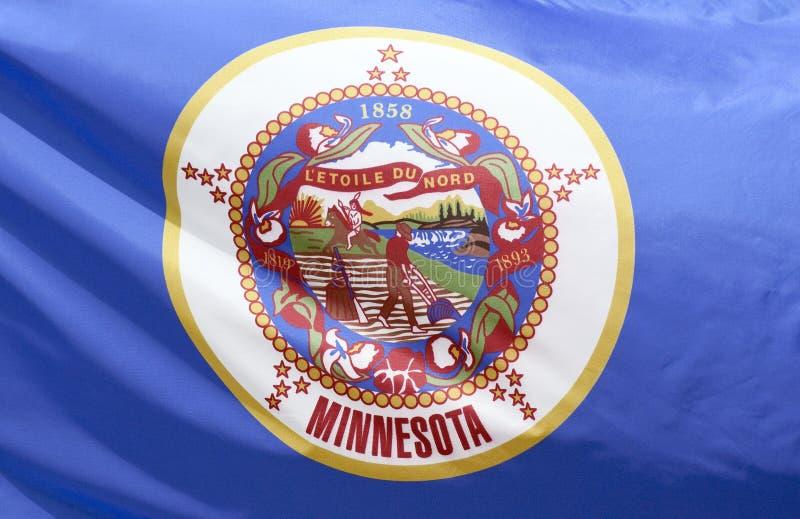 κράτος Μινεσότας σημαιών στοκ εικόνες με δικαίωμα ελεύθερης χρήσης