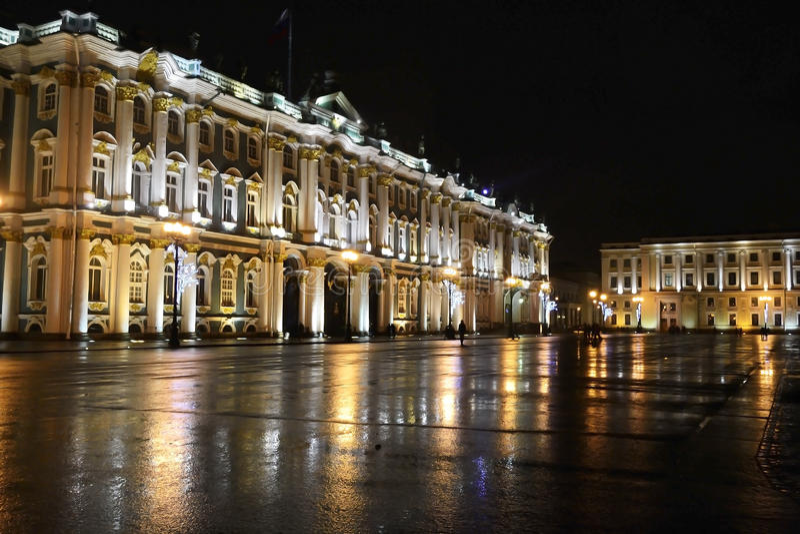 κράτος νύχτας μουσείων ερημητηρίων στοκ φωτογραφίες με δικαίωμα ελεύθερης χρήσης