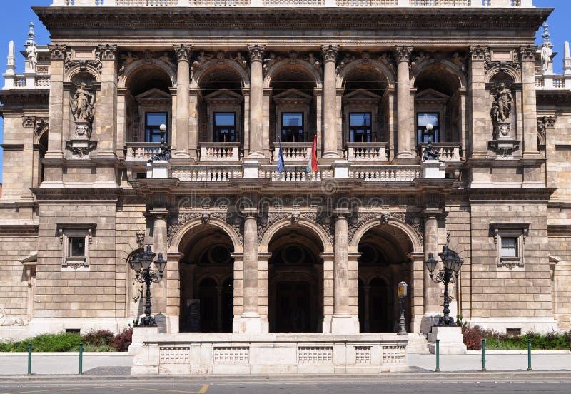 κράτος οπερών της Βουδαπ στοκ φωτογραφίες με δικαίωμα ελεύθερης χρήσης