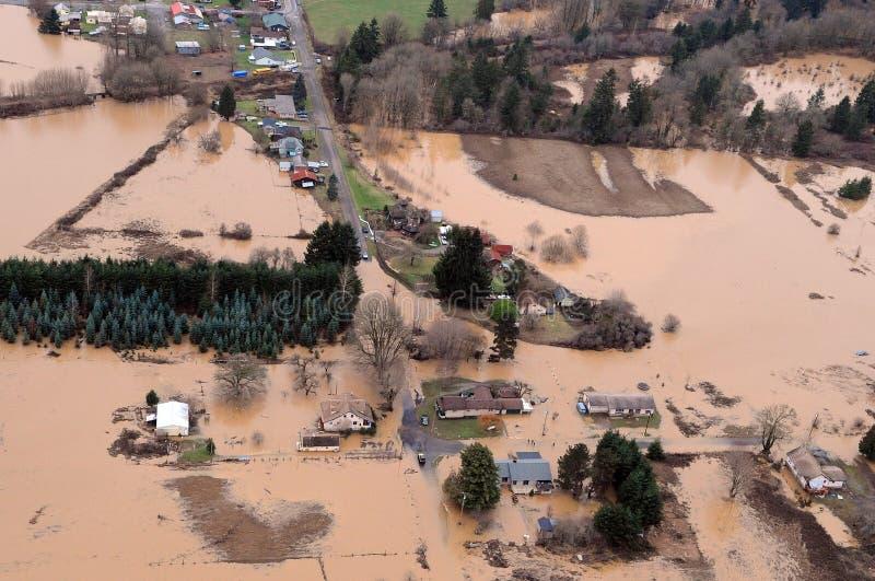 κράτος Ουάσιγκτον πλημμ&ups στοκ φωτογραφία