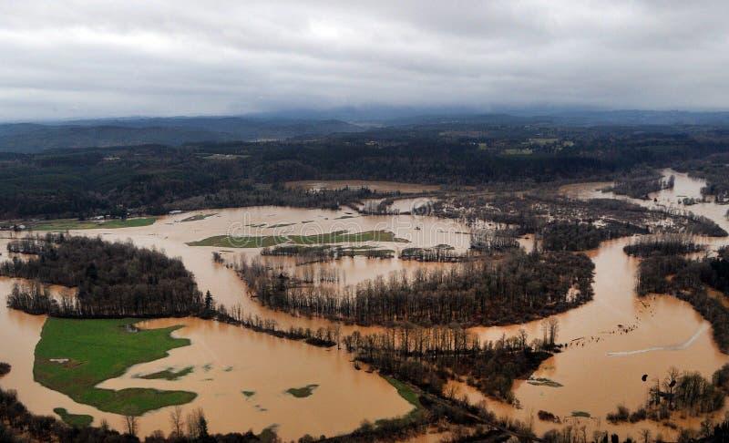 κράτος Ουάσιγκτον πλημμ&ups στοκ φωτογραφίες με δικαίωμα ελεύθερης χρήσης