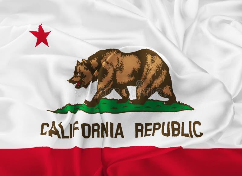κράτος σημαίας Καλιφόρνι&alph διανυσματική απεικόνιση