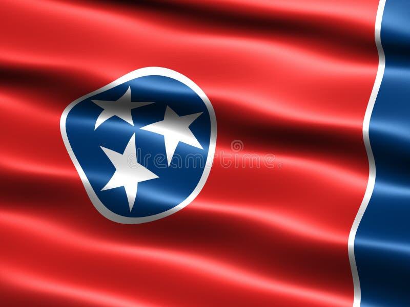 κράτος σημαίας Tennessee απεικόνιση αποθεμάτων